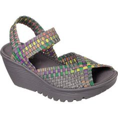 Skechers Women's Meditation Studio Kicks Toe Ring Sandal