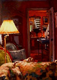 LARRY BRACEGIRDLE  The Reading Lamp