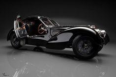 Bugatti 57 SC Atlantic Black - Restored (Ralph Lauren) - posted in DX Classic Bugatti Type 57, Wallpaper Dekstop, Hd Wallpaper, Armored Vehicles, Military Vehicles, Luxury Cars, Cool Cars, Antique Cars, Cars