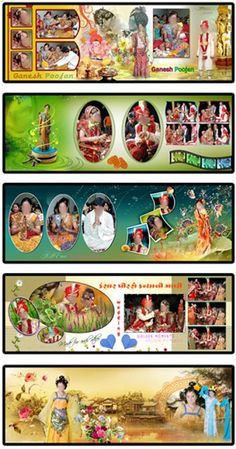 here in this post you can get 20 most beautiful indian wedding album design psd file and use in your wedding albums working