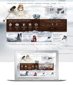 resort site design  #webdesign #it #web #design #layout #userinterface #website #webdesign <<< repinned by an #advertising #agency from #Hamburg / #Germany - www.BlickeDeeler.de
