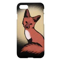 Beautiful Red Foxy Fox iPhone 8/7 Case - beauty gifts stylish beautiful cool