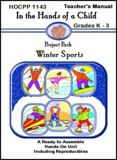 Have some fun with your younger children by making a Winter Sports Lapbook!