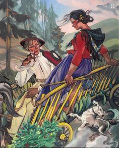 Zofia Stryjeńska - Miłość w górach, z cyklu