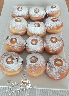 Masopustní koblihy. Doughnut, Desserts, Food, Tailgate Desserts, Deserts, Essen, Postres, Meals, Dessert