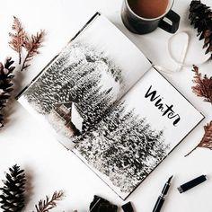 winter, snow, and christmas kép
