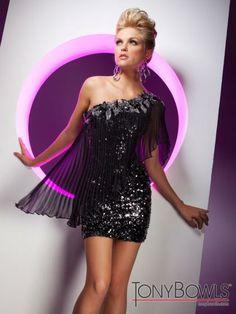 Tony Bowls Shorts Dress TS11353 at Prom Dress Shop