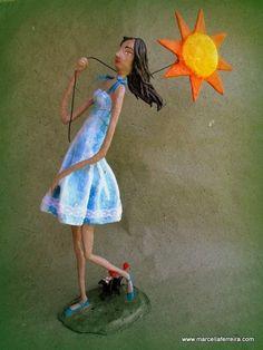 Levo meu sol aonde vou... - www.marcellaferreira.com