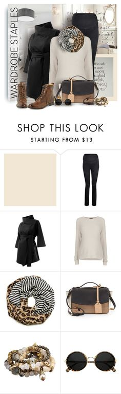 """Wardrobe Staple: Infinity Scarves-sheispregnant"" by bynoor ❤ liked on Polyvore featuring WALL, Mama Jeanius, Isabella Oliver, Topshop, Tory Burch, Reed Krakoff, Lacey Ryan, Frye, WardrobeStaple and ToryBurch"
