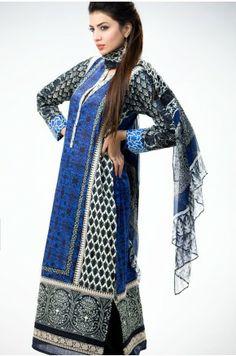 Lawn Shirt 2.25m  Lawn Shirt 1.25m  Embroidered Fabric 0.5m  Lawn shalwar 2.5m  Chiffon Dupatta 2.5m Rs.6800