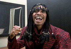 "Dave Chappelle (as Rick James) too funny: ""Cocaine is one hell of drug..."""