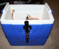 DIY Jockey Box! (Beer tap/cooler)