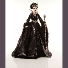 Queen of the Dark Forest™ Barbie® Doll | Barbie Collector. 3rd doll in Faraway Forest Collection.