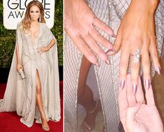 I did like JLo's mani color:  L'Oréal Paris Colour Riche Nail in Charmed Exclusive! What's On the Flip Side of J. Lo's Gorgeous Globes Mani  #InStyle