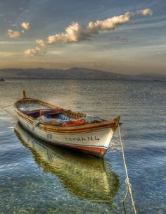 Once in a Lifetime Experience – Yacht Charter Sailing in Greece Old Boats, Small Boats, Boat Art, Float Your Boat, Boat Painting, Dinghy, Am Meer, Wooden Boats, Tall Ships