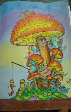 Coloring Stuff Doodle Adult Books Colouring Enchanted Forest Book Doodles Random Ideas Paintings