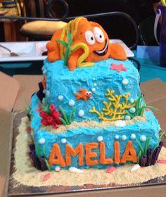 Bubble Guppies birthday cake