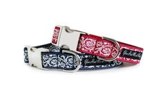 Marseille Dog Collar by You Had Me at woof, part of the French Collection now available at www.youhadmeatwoof.boutique