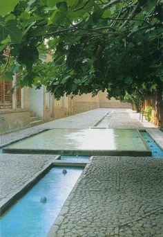 Garden of Fin, Kashan, Iran. Fin Garden, or Bagh-e Fin, located in Kashan, Iran…
