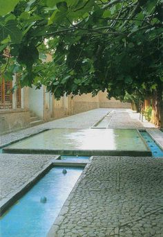 Garden of Fin, Kashan, Iran. Fin Garden, or Bagh-e Fin, located in Kashan, Iran, is a historical Persian garden. It contains Kashan's Fin Bath, where Amir Kabir, the Qajarid chancellor, was murdered by an assassin sent by King Nasereddin Shah in 1852. Completed in 1590, the Fin Garden is the oldest extant garden in Iran.
