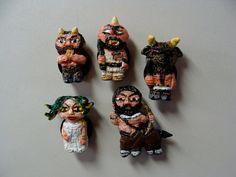 Creatures Of Greek Mythology Refrigerator Magnet set  by YokaiJohn