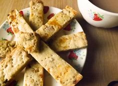 Apricot and Walnut Shortbread Fingers from my blog I'd Much Rather Bake Than...