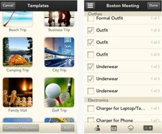 Bon voyage! Stow is a sweet iOS packing-list app for forgetful travellers