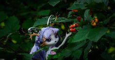Doe A Deer, Novi Star, Doll in Forest, Photo by Marie Syskina