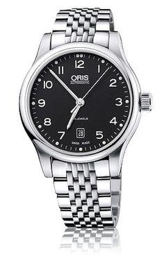 Oris 01 733 7594 4094-07 8 20 61 Men's Watch Swiss Made Classic Date