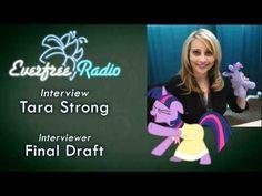 Tara Strong, Voice Actor, Ponies, The Voice, Interview, Actors, Pony, Actor