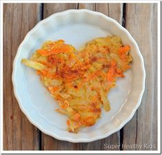 Sweet n Salty Hashbrowns w/ regular & sweet potatoes - could also be a snack if you made smaller patties