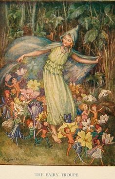 The Fairy Troupe. Margaret W- Tarrant  *