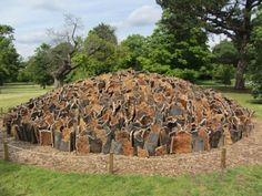 'Cork Dome' by David Nash 2012