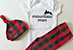Lumberjack First Birthday Rustic Baby Shower Mountain Man Buffalo Plaid Woodland Toddler Leggings Camping Baby Lumberjack Red Black Plaid by LaurelAndOctavia on Etsy https://www.etsy.com/listing/265288654/lumberjack-first-birthday-rustic-baby