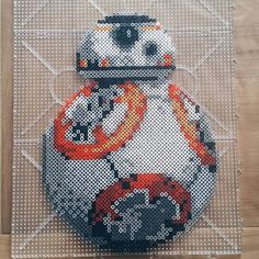 - Star Wars VII perler beads by Pony Bead Patterns, Pearler Bead Patterns, Perler Patterns, Beading Patterns, Perler Bead Designs, Hama Beads Design, Pokemon Perler Beads, Diy Perler Beads, Perle Hama Star Wars