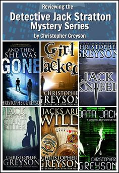 7 reasons I recommend the Detective Jack Stratton series by Christopher Greyson. A mystery-suspense-romance series review.