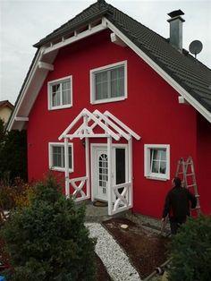 Das Vordach Bayerischer Wald ist ein erstklassig verarbeitetes Satteldach.