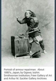 Sword repair man.