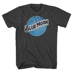 Blue Moon Men's T-Shirt Charcoal Gray Xxl