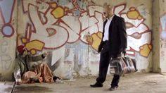 Stunt fight choreo Man with bag vs wasabi gang 2013