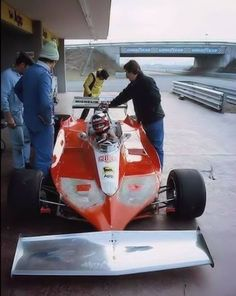 Gilles Villeneuve test Ferrari 312 at Fiorano Ferrari F1, Ferrari Racing, F1 Racing, Road Racing, Le Mans, Grand Prix, Gilles Villeneuve, Formula 1 Car, Racing Events