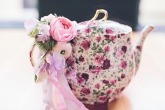 vintage pastel tea party inspiration