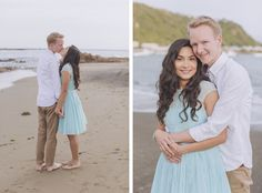 Romantic Engagement from Candy Capco Photography - She Wears White