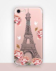 Paris Clear Phone Case