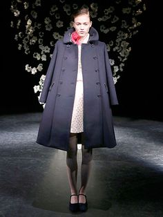 Fall 2013 Oversized Outerwear Runway Trend - New York Fashion Week Fall 2013 Runway Trends