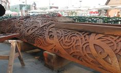 New Zealand Pavilion Carving June Shanghai World Expo