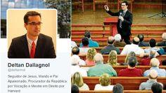 POR FERNANDO BRITOno TIJOLAÇO O coordenador do Ministério Público na Operação Lava Jato, Deltan Dallagnol, como noticiou a Folha, fez ontem uma pregação numa igreja evangélica defendendo a antecip…