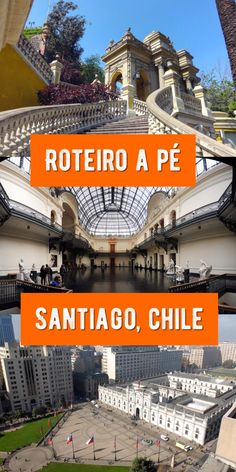 Roteiro de um dia no centro de Santiago (com mapa interativo) | Rodei Viagens Chili Travel, Chile Tours, Places To Travel, Places To Go, Travel Stuff, South America Travel, Beautiful Places To Visit, Travel Inspiration, Patagonia