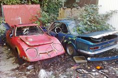 Opel GT and BMW 3.0