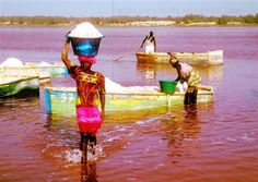 The Lac Rose (Or Lake Retba ) in Senegal